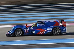 European Le Mans Race report Alpine and Panciatici on the podium