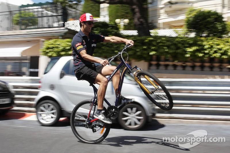 Scuderia Toro Rosso had a good day in Monaco in Thursday practices