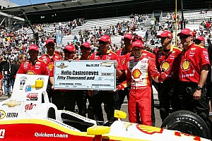 IndyCar Breaking news Castroneves and Penske crew celebrate Pit Stop Challenge win