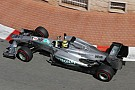 Rosberg races to pole position for the Monaco GP