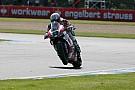 Ducati Alstare team after race at Donington