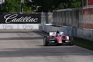 IndyCar Race report Foyt's Sato not finished Race 2 in Detroit