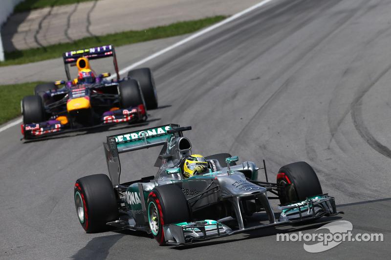 Rosberg's pace 'has surprised' Hamilton - Wolff