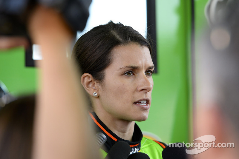 Danica Patrick in Sonoma: Same course (sort of), different car