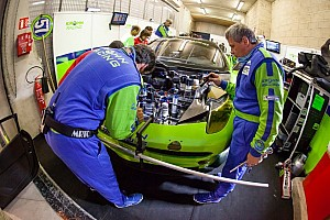 Le Mans Breaking news Krohn Racing fun facts regarding Ferrari chassis rebuild at Le Mans