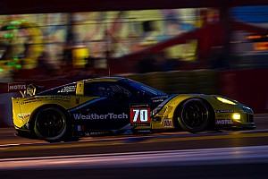 Le Mans Breaking news MacNeil has strong first stint in WeatherTech Corvette at Le Mans