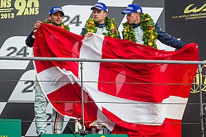 Le Mans Race report Aston Martin's Mücke third on the podium at Le Mans in the GTE Pro class