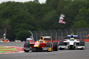 GP2 Race report 4th for Julian Leal and Racing Engineering at the Silverstone Sprint Race