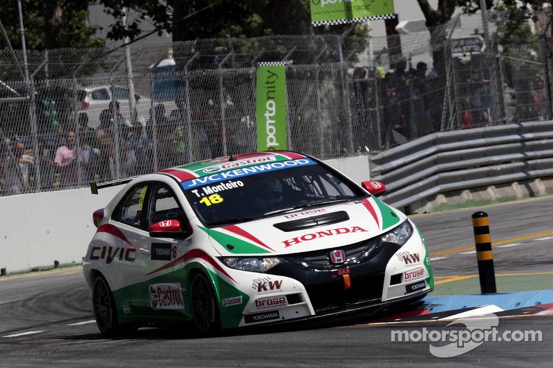 Small rewards for hardworking Hondas on Races 1,2 in Porto