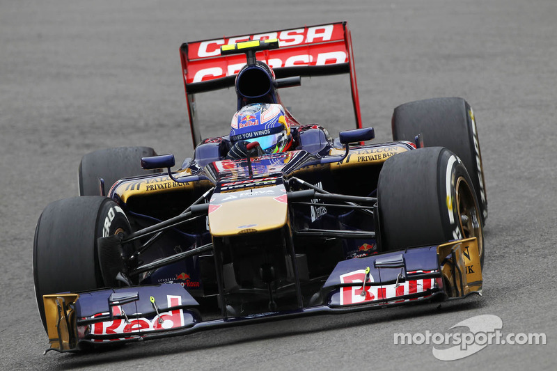 Toro Rosso decreased performance on Friday practice at Nürburgring