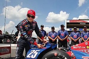 IndyCar Qualifying report Andretti grabs his home pole for Pocono Indy 400
