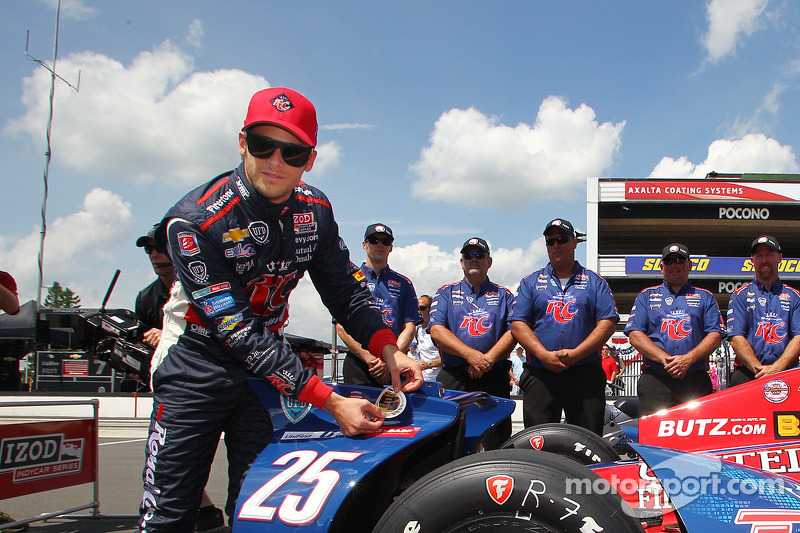 Andretti grabs his home pole for Pocono Indy 400