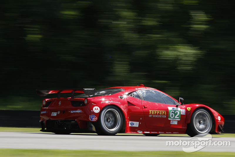 Late race incident thwarts Risi podium finish at Lime Rock