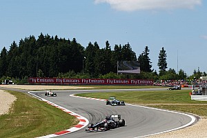 Formula 1 Race report Sauber once again managed to score one point, this time on German GP