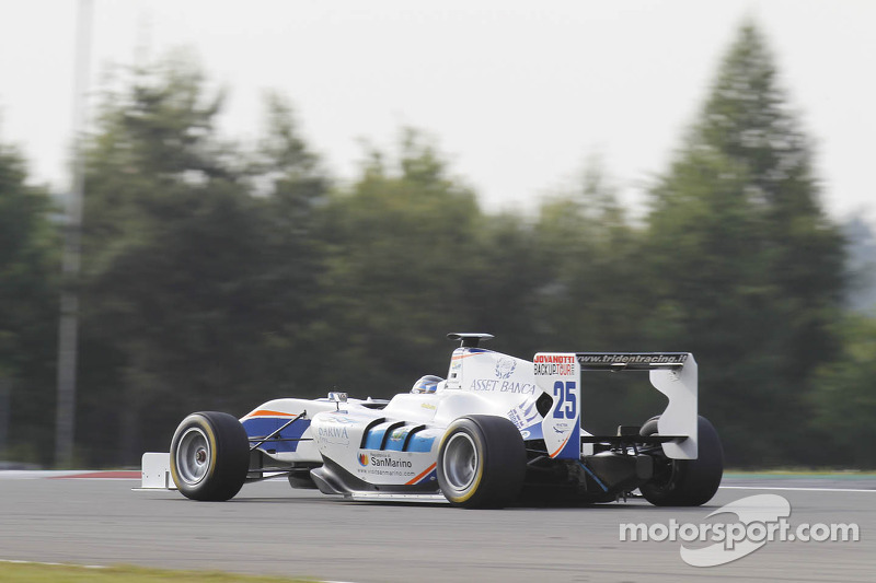 Trident Racing faced an uphill weekend at the Nurburgring
