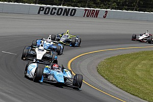 IndyCar Race report Pagenaud 6th; Vautier 19th in action packed at Pocono