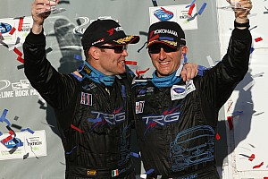 ALMS Race report TRG returns to podium at Lime Rock