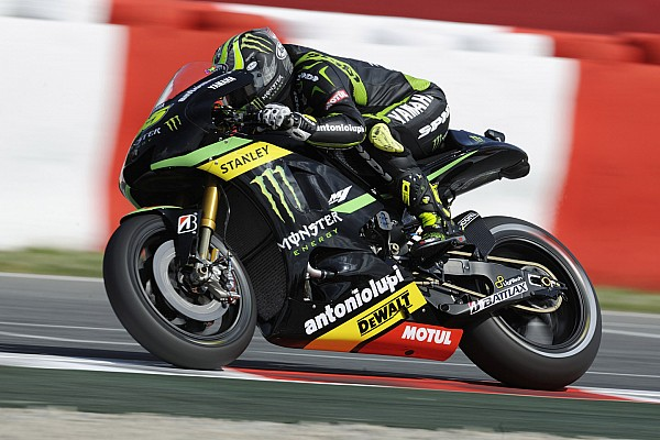 Crutchlow escapes major injury after crashes at the Sachsenring
