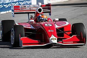 Indy Lights Race report Peter Dempsey charges to 2nd place finish on the Streets of Toronto