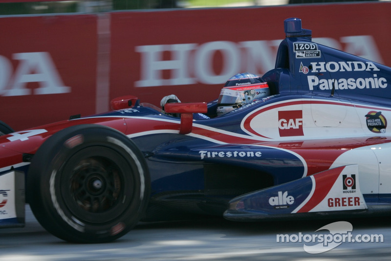 A dramatic finish for Sato on Race 2 at Toronto