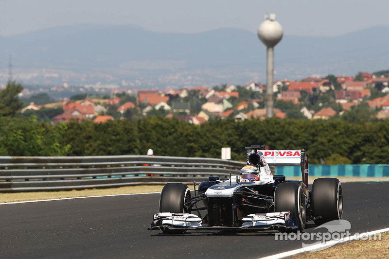 Williams performance looked better on Friday practice for the Hungarian GP