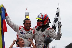 Grand-Am Race report Brickyard Grand Prix goes to Dalziel and Popow