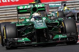 Formula 1 Breaking news Caterham boss not denying Kovalainen rumours