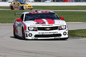 Grand-Am Race report Stevenson Motorsports wins on GT class with runner-up finish in Brickyard Grand Prix