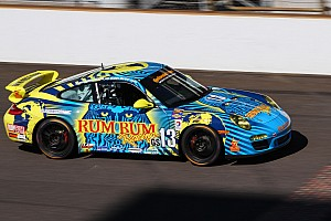 Grand-Am Race report Rum Bum Racing fights to 5th at Indianapolis Motor Speedway