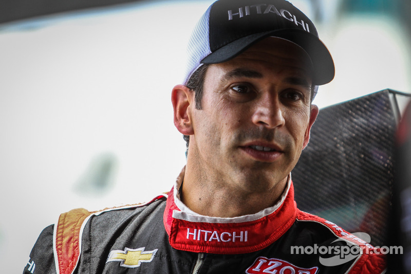Castroneves and Power ahead the Indy 200 at Mid-Ohio