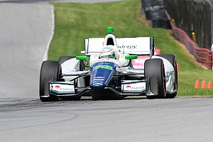 IndyCar Qualifying report Simona De Silvestro Qualifies 9th for Indy 200 at Mid-Ohio