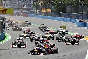 Formula 1 Breaking news Valencia left off FIA Formula One 2014 calendar