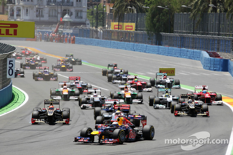 Valencia left off FIA Formula One 2014 calendar