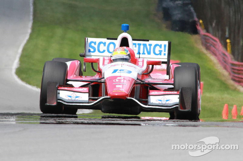 Wilson takes top-10 finish at Mid-Ohio