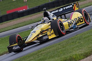 IndyCar Race report A bad day for the RLLR team at Mid-Ohio