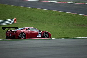 Asian Le Mans Race report AF Corse Ferrari team celebrates win in debut race at Inje