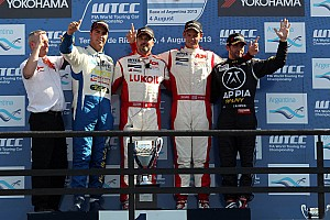 WTCC Race report Muller extends championship lead as paddock applauds Argentina