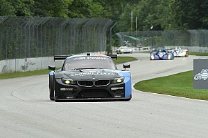 ALMS Race report BMW Team RLL Finishes 7th and 8th at Road America