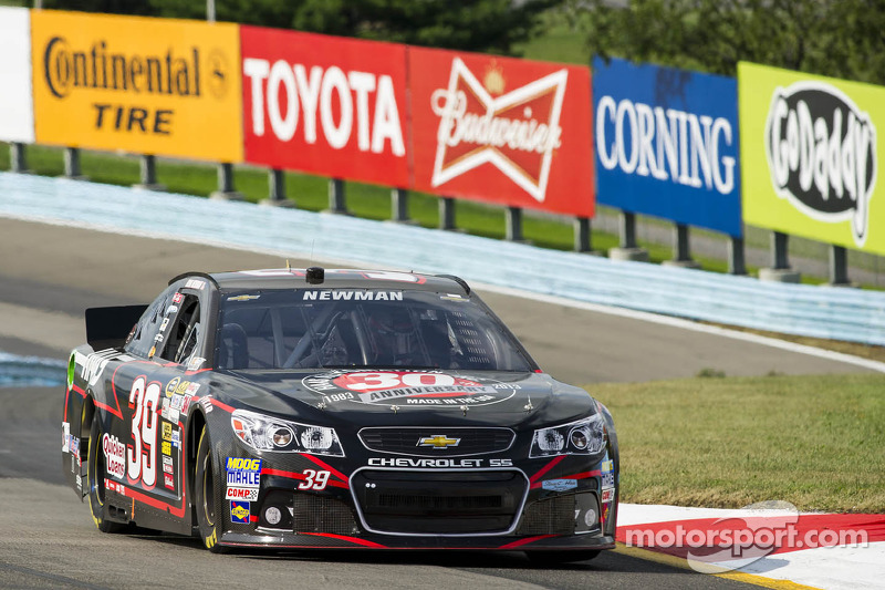 Newman overcomes penalty to finish 14th at The Glen