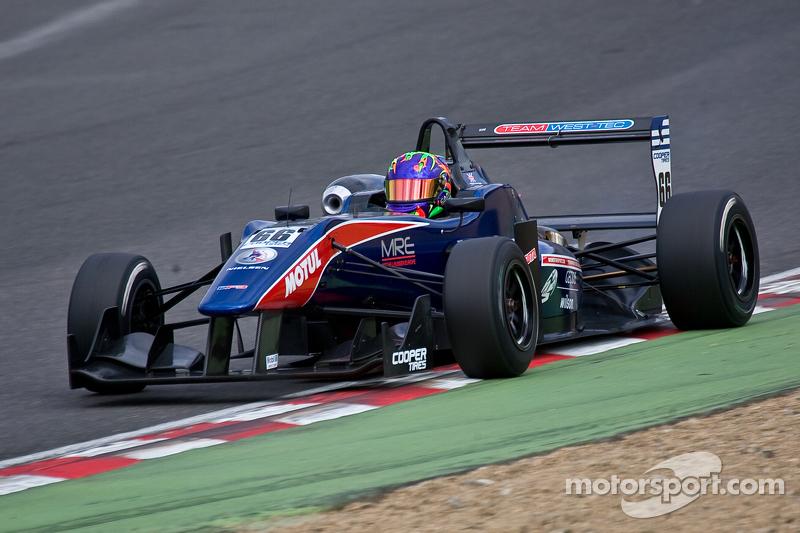 Twynham secures podium treble at Brands Hatch