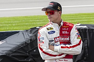 NASCAR Cup Qualifying report Bayne finds the needed speed in Michigan qualifying