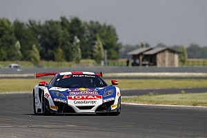 Blancpain Sprint Qualifying report Loeb and Parente take victory in Slovakian thriller