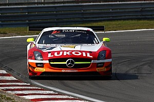 Blancpain Sprint Race report HRT Gravity Charouz takes main race overall victory at Slovakia Ring