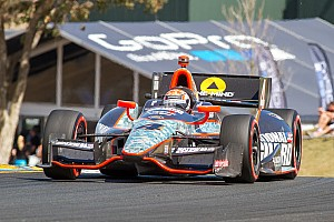 IndyCar Race report Eventful day for Briscoe puts Panther Racing in 17th place at Sonoma