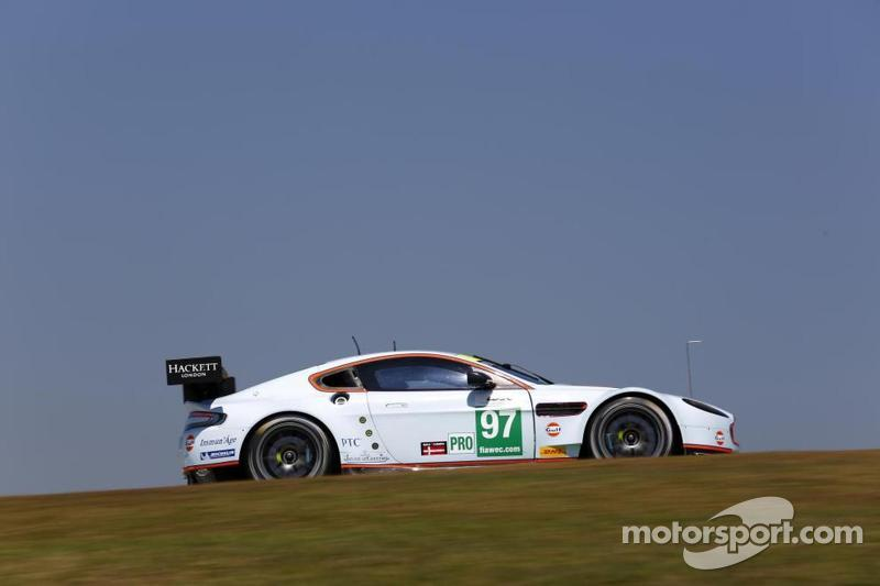 Aston Martin set the pace in LMGTE Pro and Am in Sao Paulo