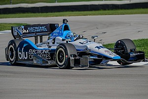 IndyCar Testing report Briscoe, Rahal put laps down on the IMS road course