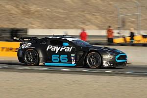 Grand-Am Qualifying report TRG-AMR North America Aston Martin Vantage GT4 on pole at Laguna Seca