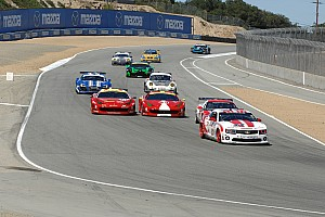 Grand-Am Race report Stevenson Motorsports takes second place on CTSCC race at Laguna Seca