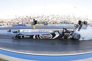 NHRA Breaking news Top Fuel standout Shawn Langdon bringing momentum to Mello Yello
