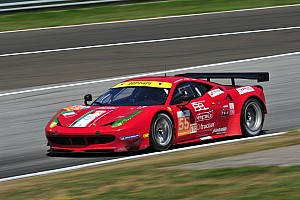 European Le Mans Race report AF Corse Ferrari, two podiums at the Hungaroring